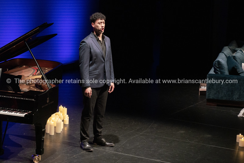 Alfred  Fuimoana on stage