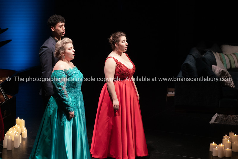 Alfred, Felicity and Katie in song