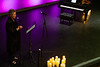 Stage, lights and candles