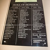 Tauranga Club Roll of Honour.