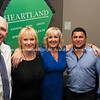 Sir Gordon Tietjens, Club President Tracey Rudduck-Gudsell, Heartland Branch Manager Deborah Lee, Former All Black Frano Botica