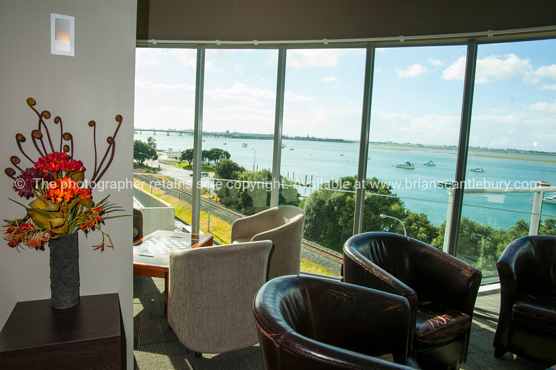 Club Lounge and Harbour View