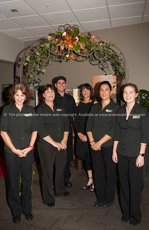 From left; Julia Sales, Robyn East, Kendall Grant, Deborah Naysmith, Fernanda Rodriguez, Julia Bartlett,