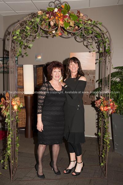 Karen Gambitsis and Club Manager Deborah Naysmith