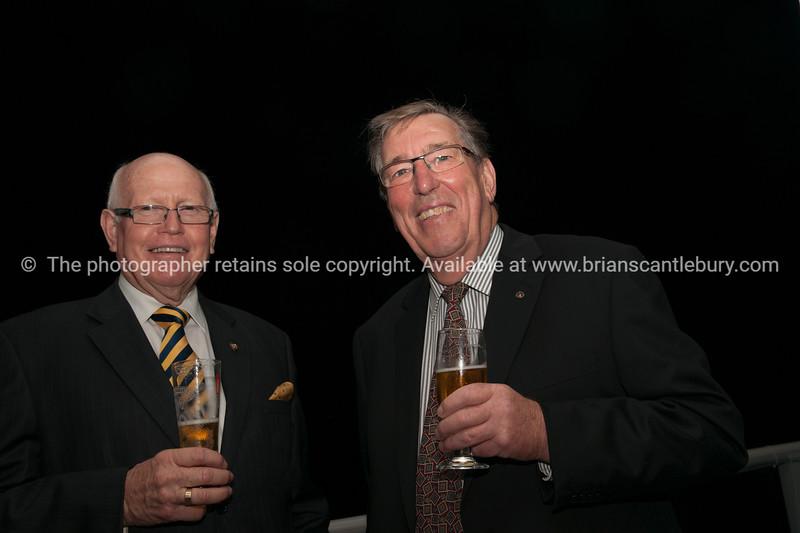 Past Presidents Neil Pettersen and Derek Vincent