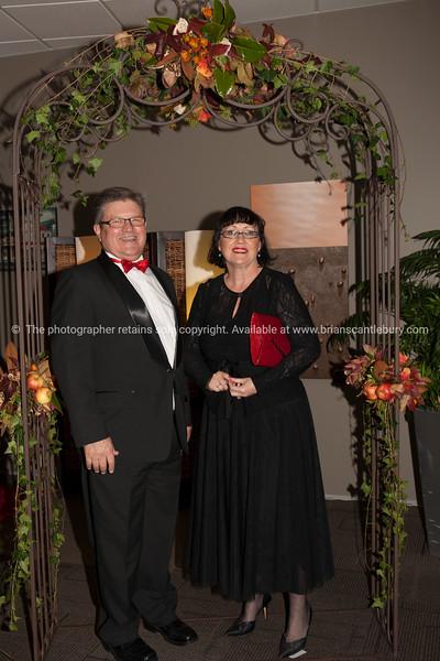 Past President Andrew von Dadelszen and Maree Brooks