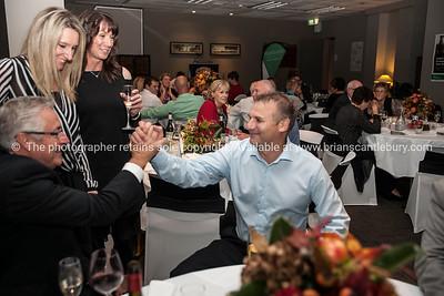 Ian and Karen Pickard, Club Manager Deborah Naysmith, Ian Jamieson
