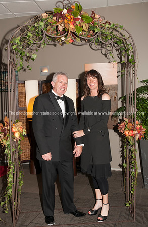 Ron Devlin and Club Manager Deborah Naysmith