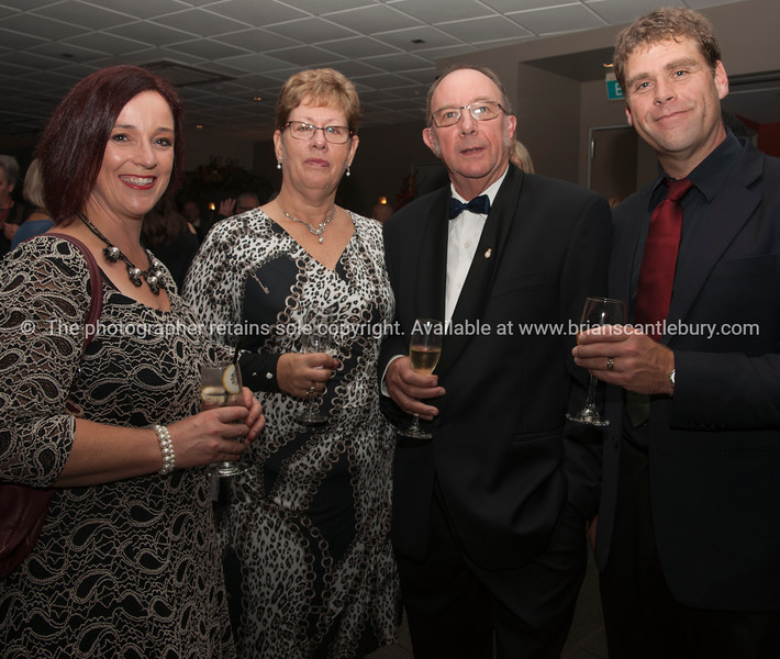 Anita Perry, Cathy and Allan Gifford, Sam Perry