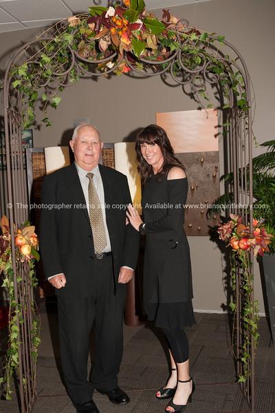 Peter Jones and Club Manager Deborah Naysmith
