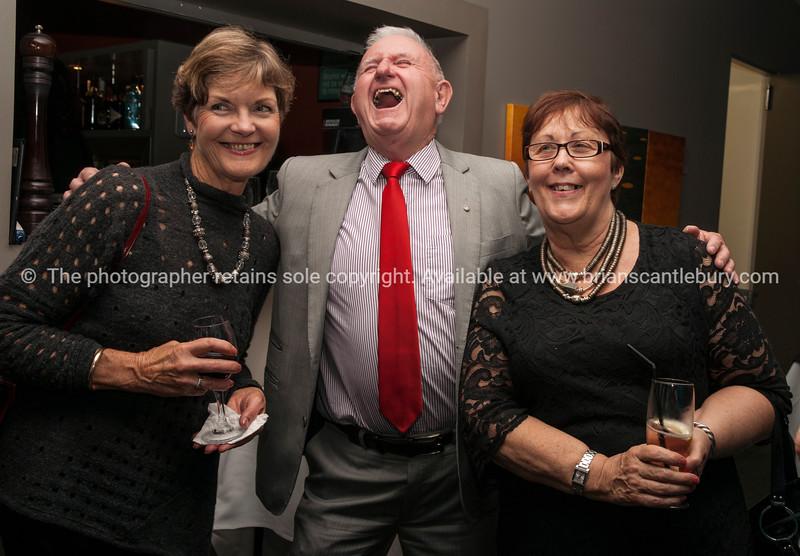 Barbara Rundle, Past President Jock and Isobel McIntyre