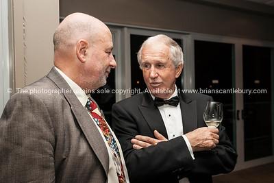 Past President Mike Chapman, John Cronin