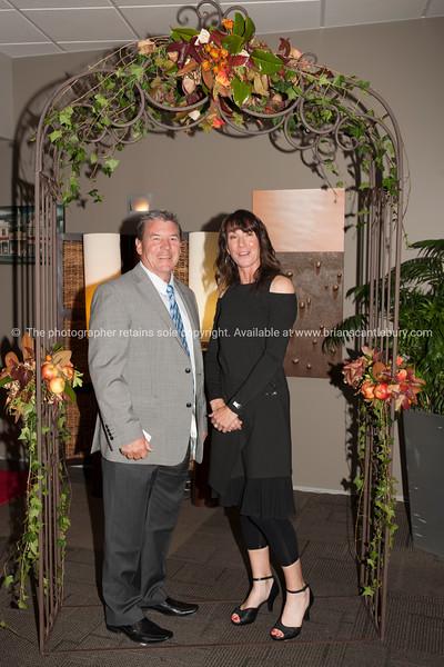 Rob Hancock and Club Manager Deborah Naysmith