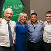 Sir Gordon Tietjens, Deborah Lee, Former All Black Frano Botica, Gavin Schneebeli