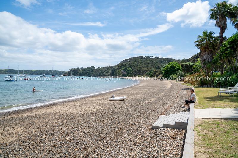 The Beach House, Kawau Island.