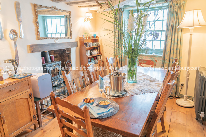 Dining room setting with table and chairs Property Released; Yes.