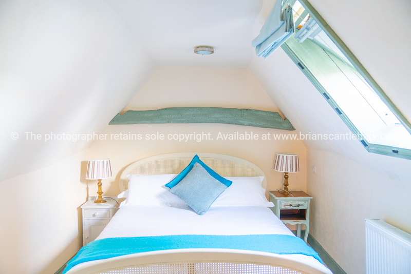 Soft tones interior decor small bedroom                                                      Property Released; Yes.