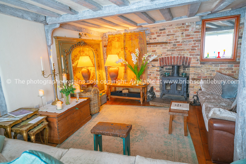 Beautifully appointed interior decor in The Tea House B & B Property Released; Yes.