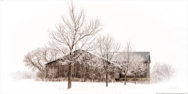 48010 Frosted Farm 8x16