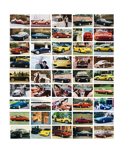 cars collage with border