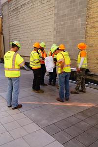 Eccles Theater Pavement Marking