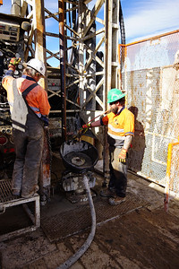 Boart Longyear Rig, Lithium Boring Operations