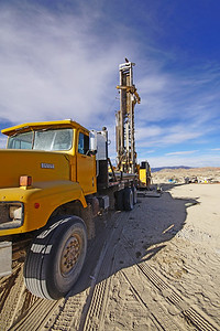 Harris Drilling Rig, Lithium Mining, Pure Energy Minerals