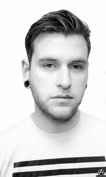 Backstage Portrait - Neil Westfall of A Day To Remember