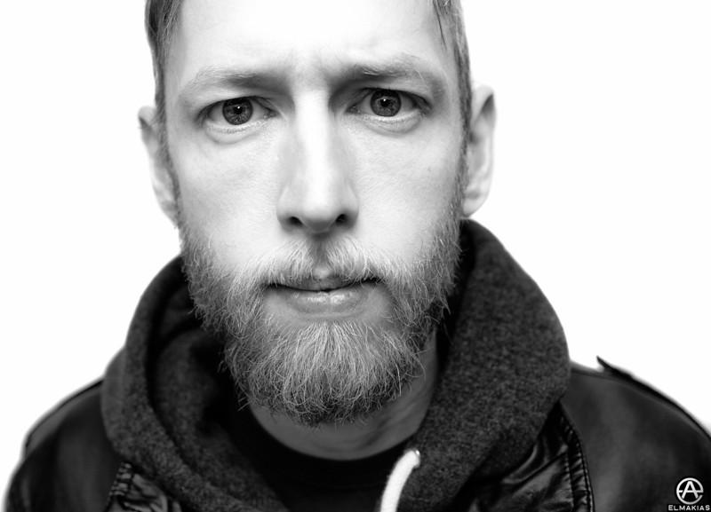 Backstage Portrait - Phil, Guitar Tech