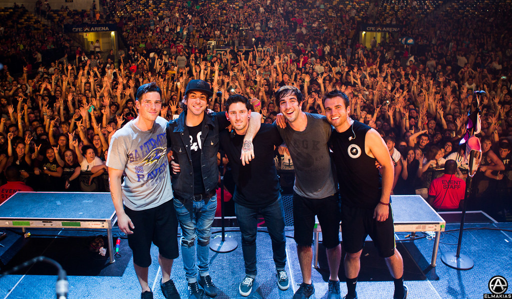 All Time Low with Matt FLyzik, his last show with the band - The House Party Tour