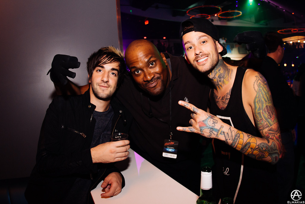 Jack and Mike, security guard man - The House Party Tour