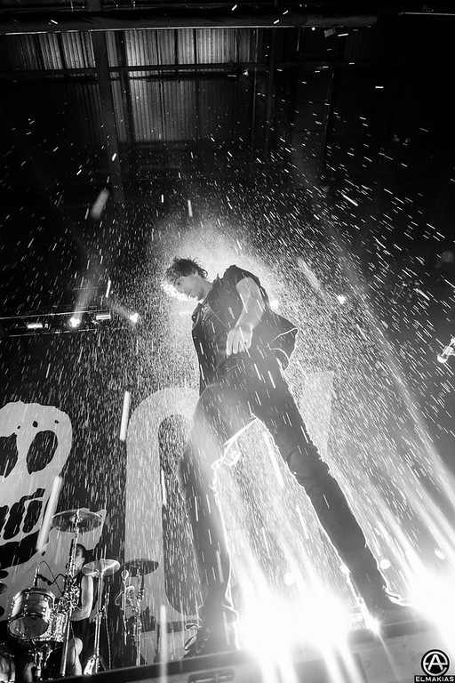 Alex and some backlit water- The House Party Tour