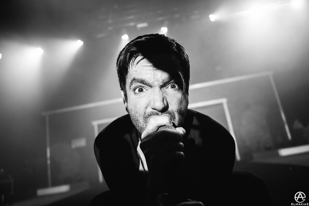 Jeremy McKinnon of A Day To Remember - The House Party Tour