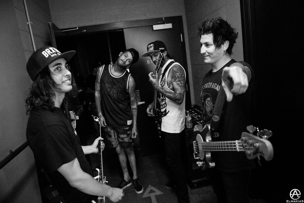 Pierce The Veil about to go to stage