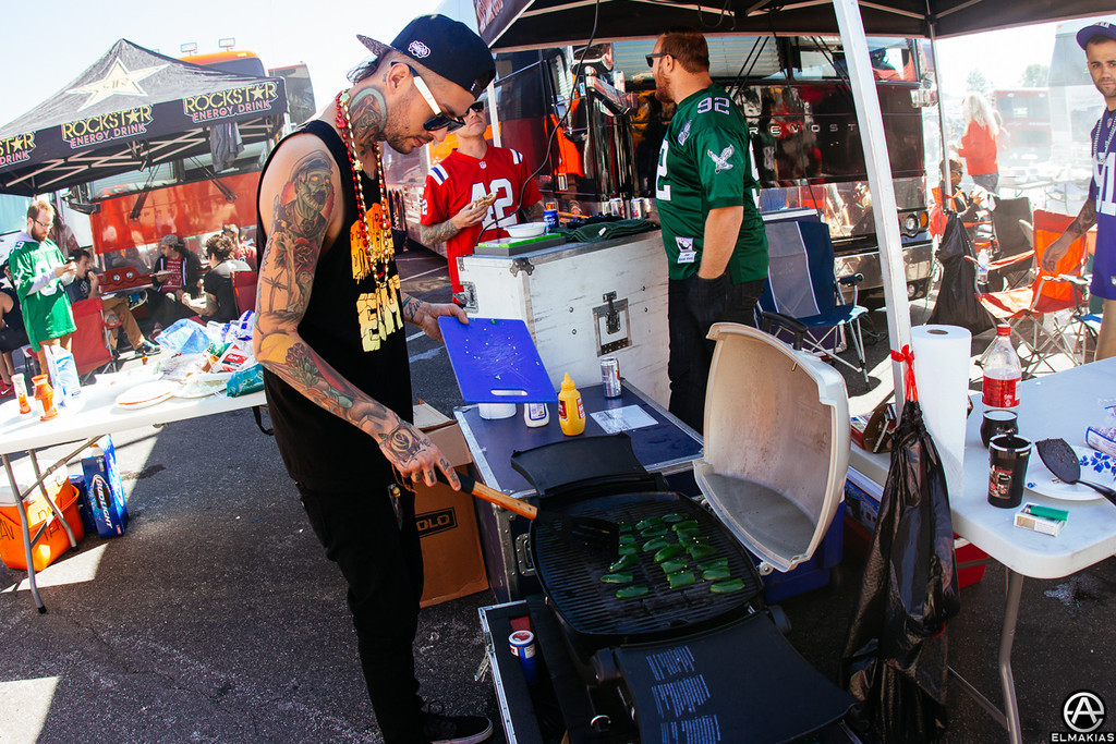 Tailgating with Pierce The Veil