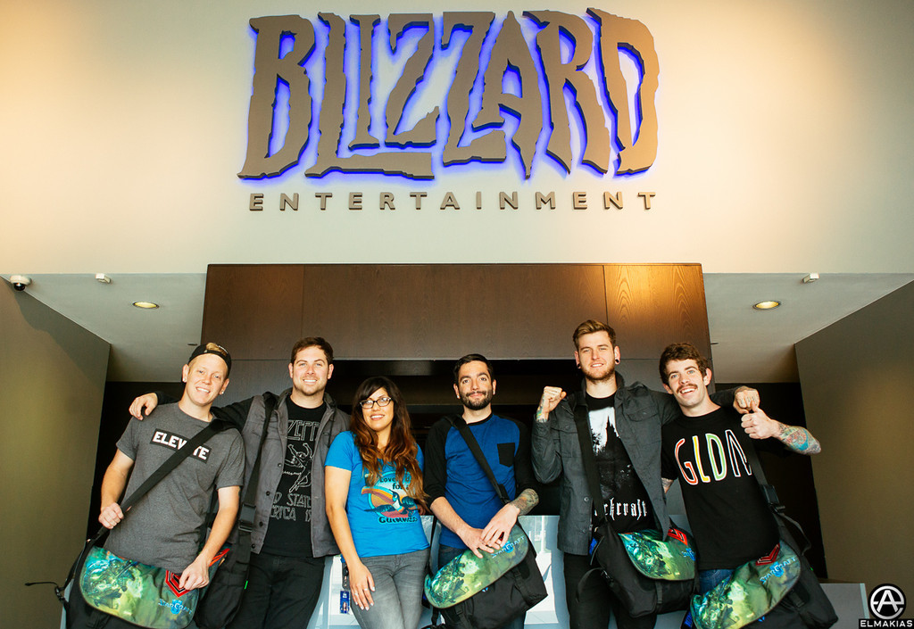 A Day To Remember with Megan, our Blizzard friend