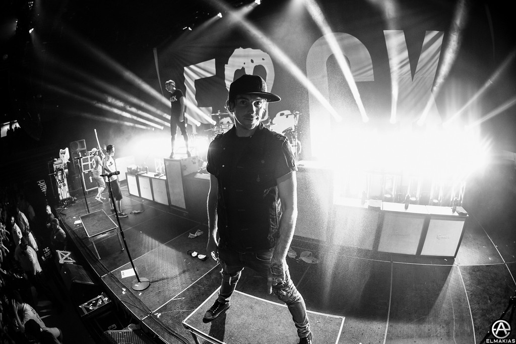 Alex Gaskarth of All Time Low - The House Party Tour