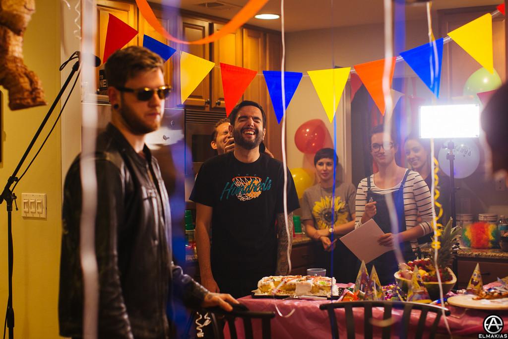 """Jeremy's kitchen aka the """"House Party"""""""