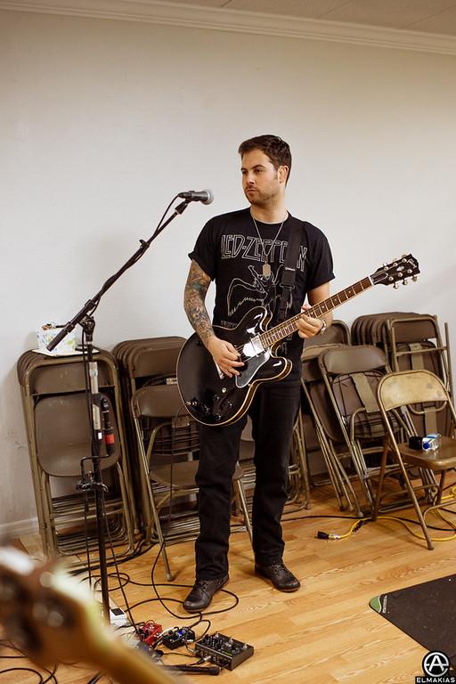 Kevin Skaff at Rehearsals in Orlando