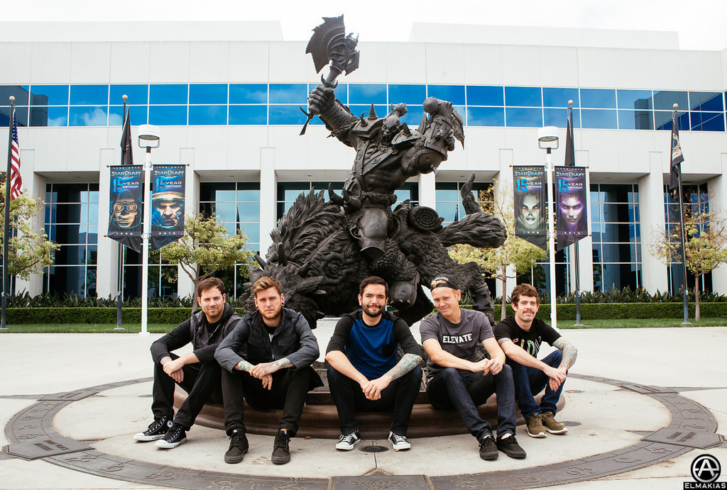 Orc statue at Blizzard