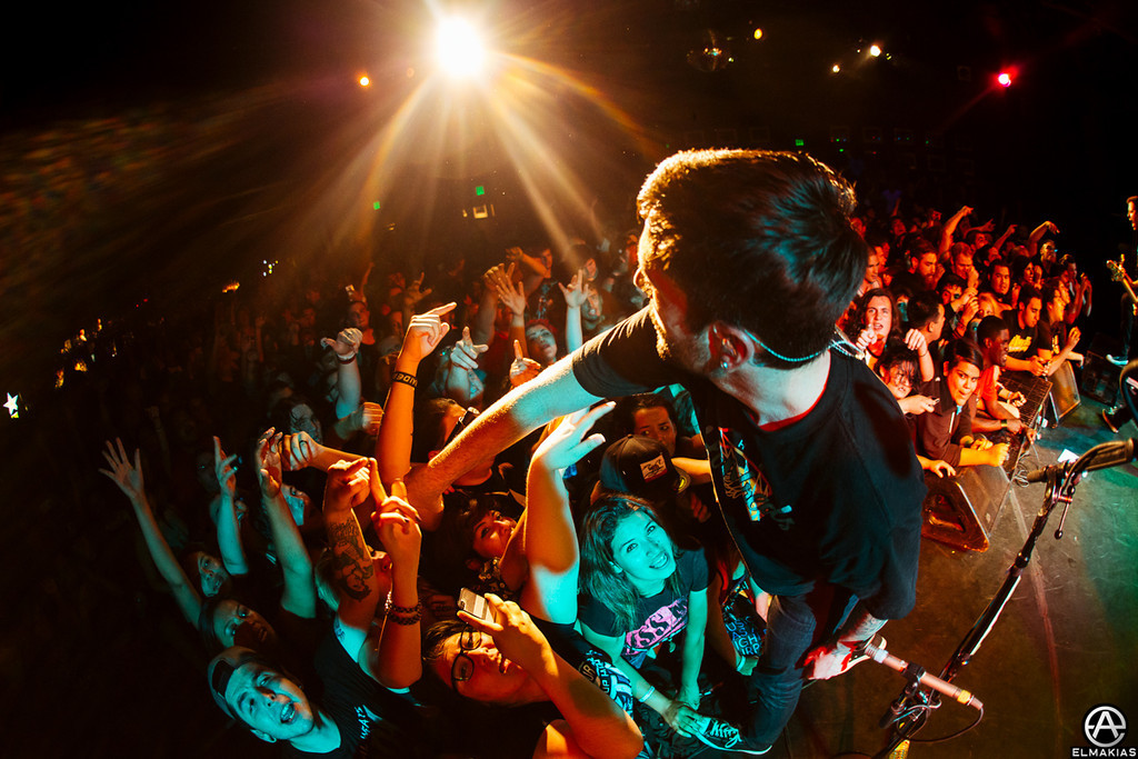 Small exclusive show at The Roxy in LA