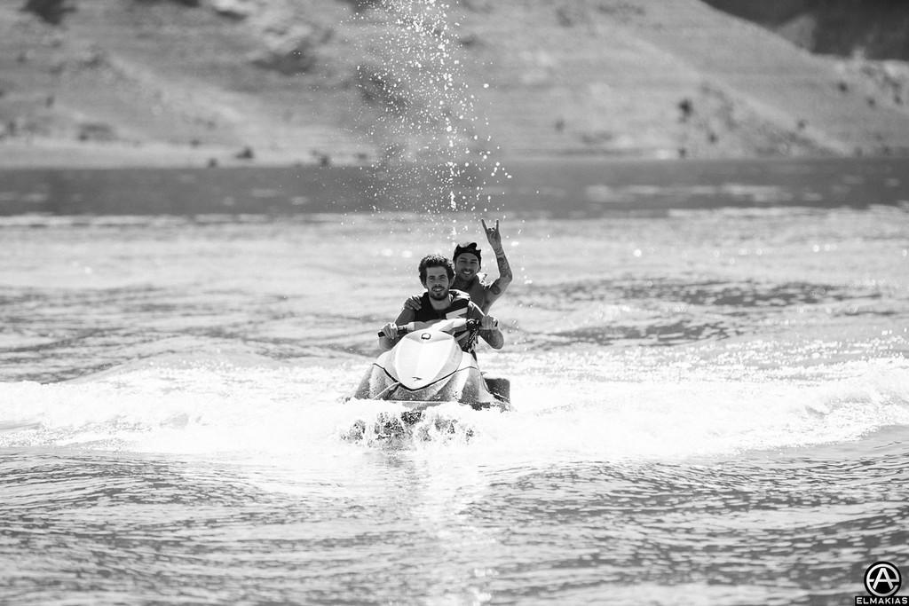 Alex and Mike jet ski