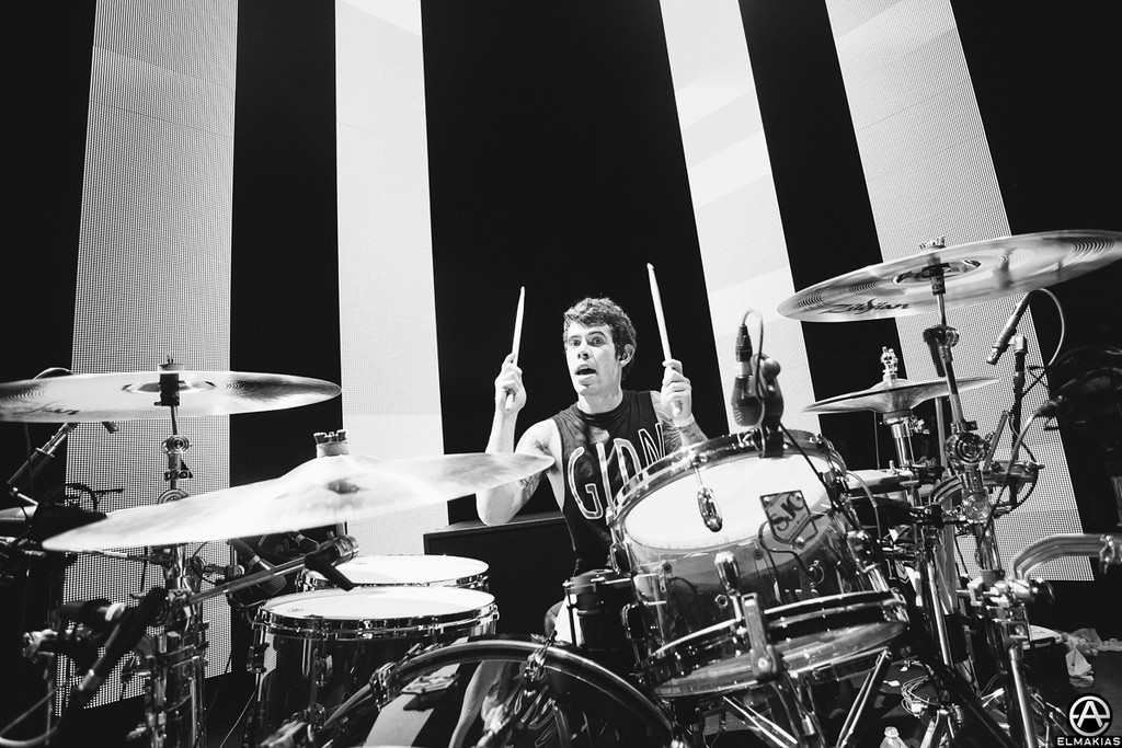 Alex Shelnutt of A Day To Remember - The House Party Tour