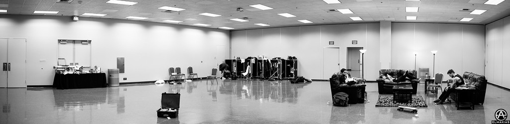 ADTR dressing room was a bit big that day