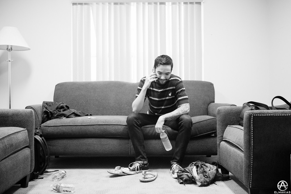 Jeremy telling his mom that he can release the album