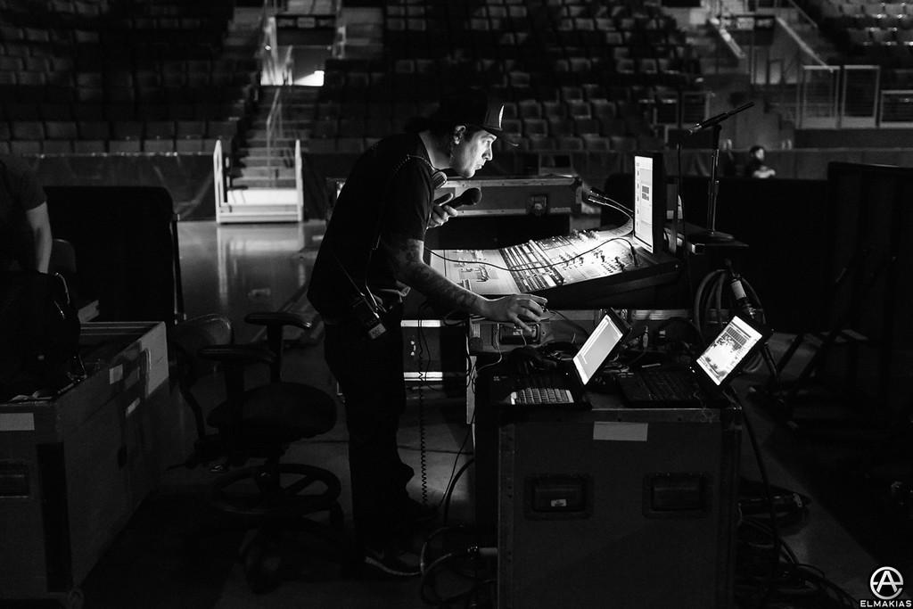 Jeff Kaplan, sound man