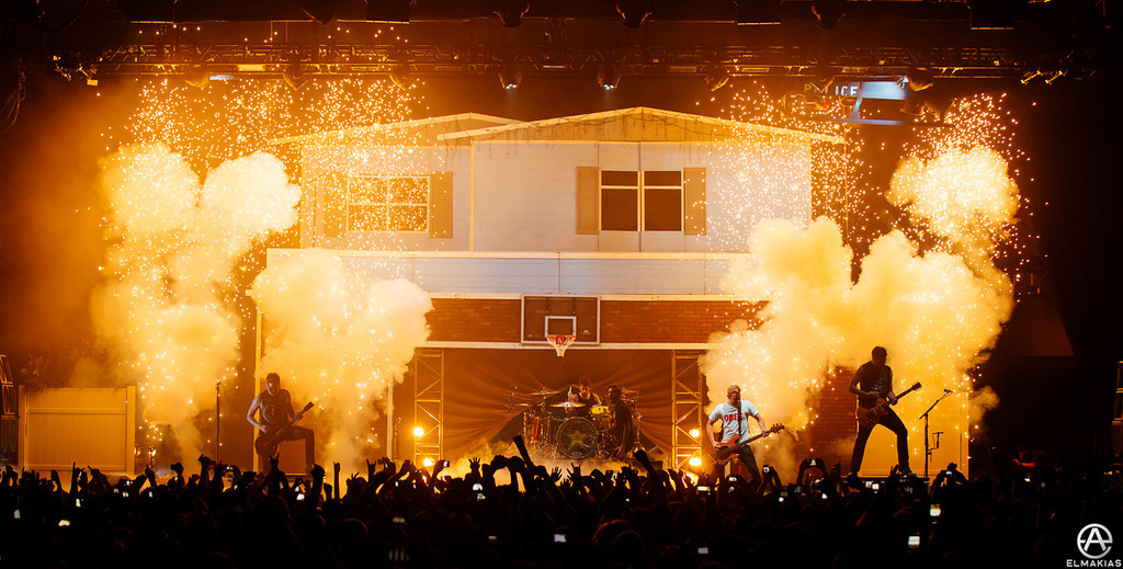 Started off the show every night with a bang - The House Party Tour