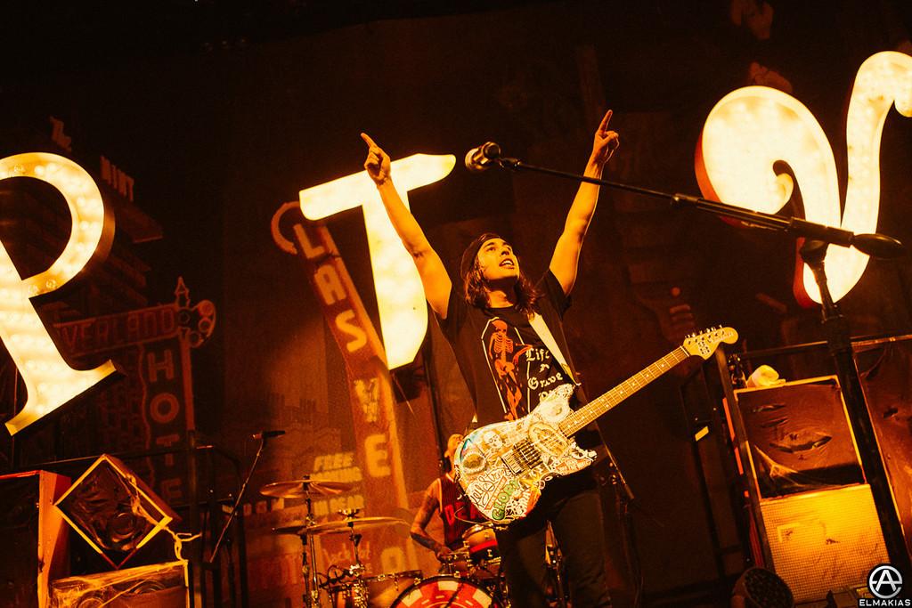 Vic Fuentes of Pierce The Veil - The House Party Tour