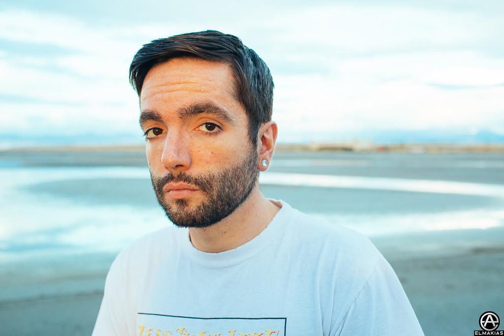 Jeremy McKinnon at the Salt Flats