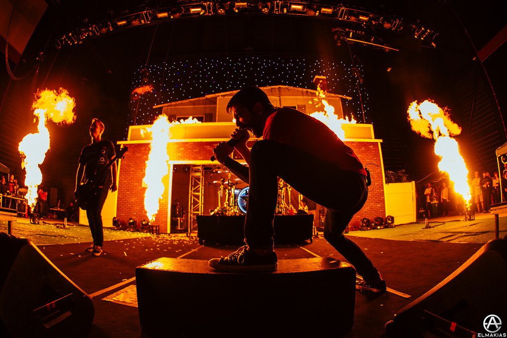Fire fire fire with A Day To Remember